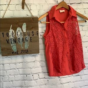 Anthropologie Pins and Needles XS Blouse